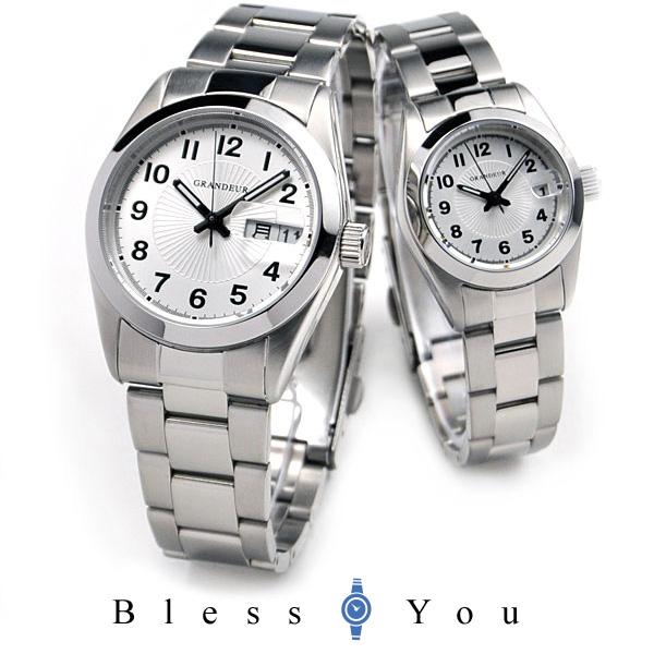 グランドール ペアウォッチ GRANDEUR GSX052M1-GSX052L1 【腕時計 ペア ウォッチ カップル】