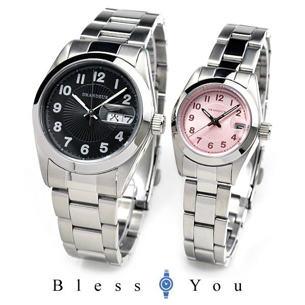 グランドール ペアウォッチ GRANDEUR GSX052M3-GSX052L3 【腕時計 ペア ウォッチ カップル】