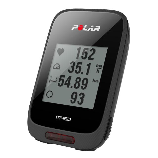 ポラール M460 (心拍センサーなし)GPSサイクルコンピュータ CYCLING COMPUTER POLAR M460 23,8 安心の国内正規品で2年保証付