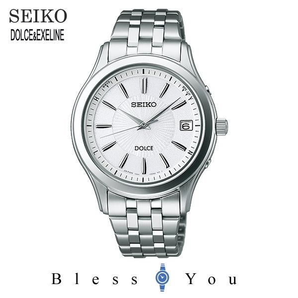 ソーラー電波腕時計 ソーラー電波時計セイコー ドルチェ ソーラー電波修正 SADZ123新品お取寄品 国内送料無料 ギフト 80,0