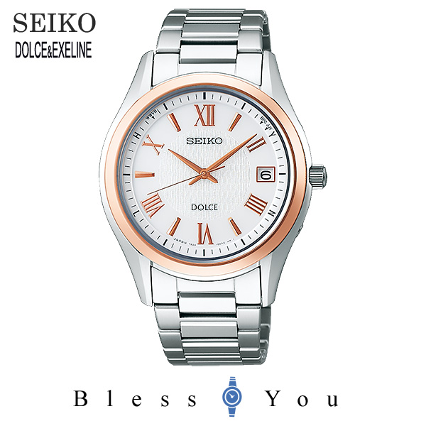 SEIKO DOLCE セイコー ソーラー電波 腕時計 メンズ ドルチェ SADZ200 100,0