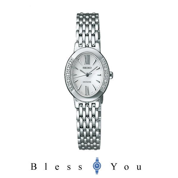 ソーラーセイコー エクセリーヌ レディース 腕時計 SWCQ047 100,0