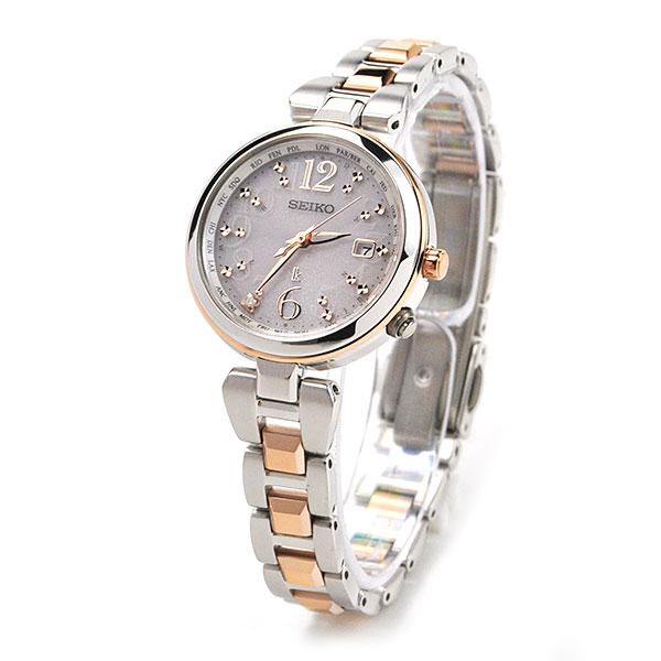 ポイント10倍 セイコー 腕時計 レディース ルキア 電波 ソーラー 腕時計 レディース 綾瀬はるか 着用モデル SSQV048 78,0