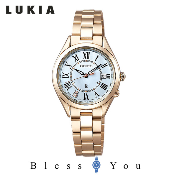 【SS期間中エントリー+カードでポイント10倍!】SEIKO LUKIA セイコー 腕時計 レディース 電波ソーラー ルキア SSQV068 78,0 2019v2