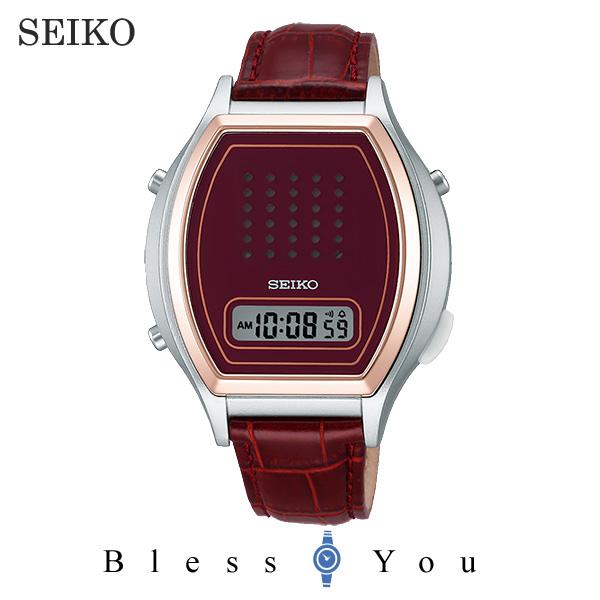 セイコー 音声デジタルウォッチ SBJS010 RD 【新品お取り寄せ品】点字説明書付なので盲人にもおすすめの腕時計です。