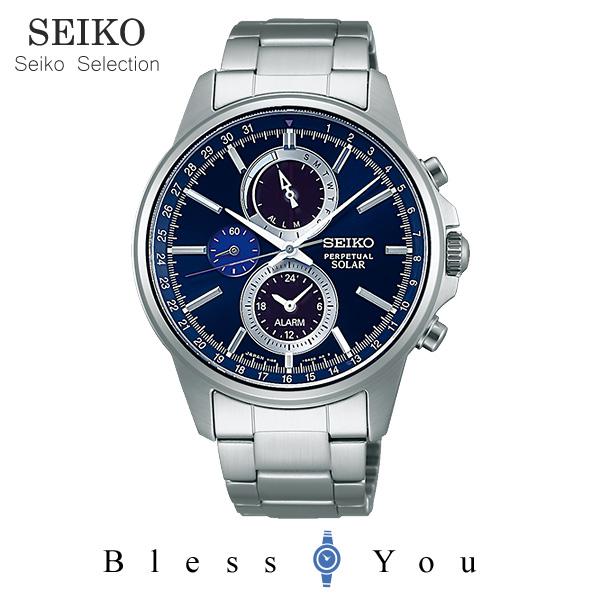 ポイント10倍 ソーラーセイコーセレクション メンズ 腕時計 SBPJ003 38,0 新品お取寄品