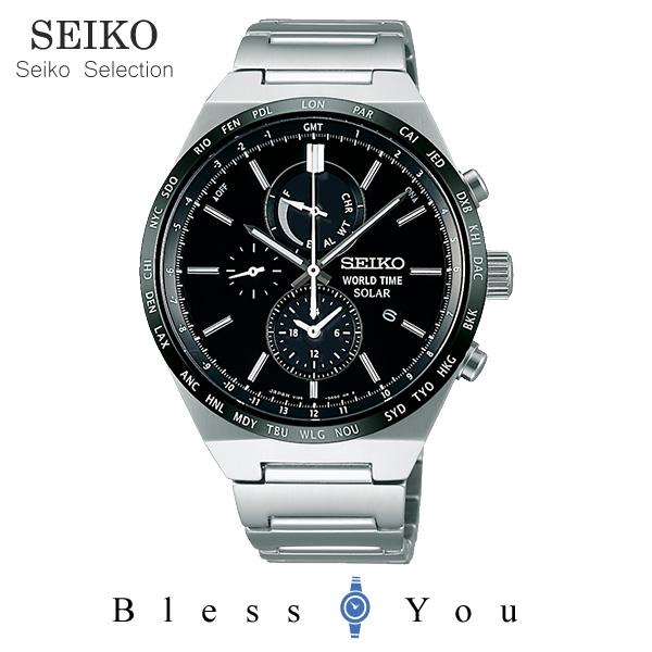 ポイント10倍 ソーラーセイコーセレクション メンズ 腕時計 SBPJ025 38,0 新品お取寄品