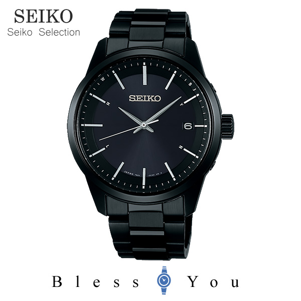 セイコー 腕時計 メンズ 電波ソーラー SBTM257 45,0