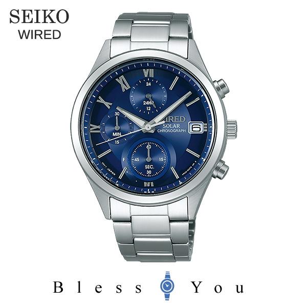 ポイント10倍 SEIKO WIRED セイコー ソーラー 腕時計 メンズ ワイアード ペアモデル 2018年10月 AGAD096 23,0
