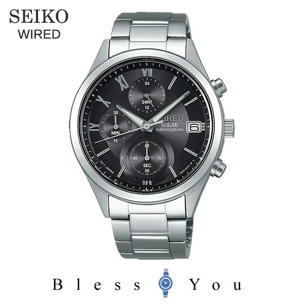 SEIKO WI赤 セイコー ソーラー 腕時計 メンズ ワイアード ペアモデル 2018年10月 AGAD098 23,0