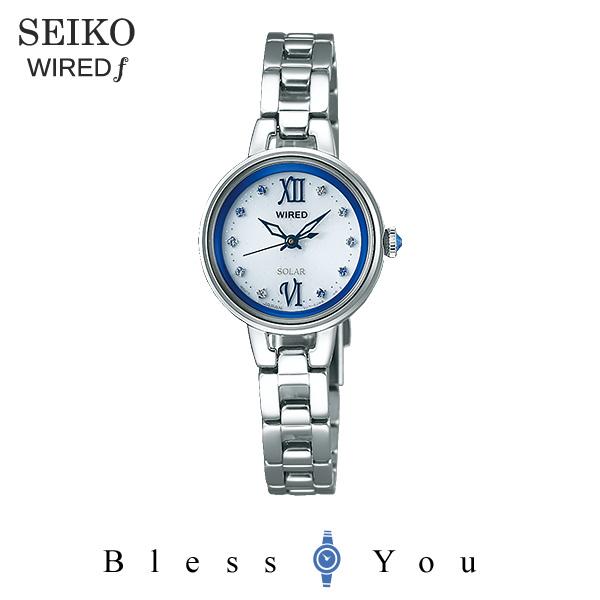 セイコー ソーラー 腕時計 レディース ワイアードエフ AGED092 22,0