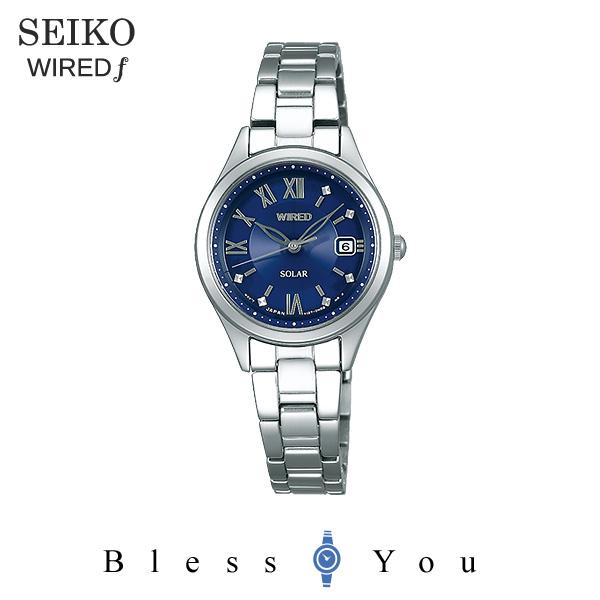 SEIKO WIRED f セイコー ソーラー 腕時計 レディース ワイアードエフ ペアモデル 2018年10月 AGED103 21,0