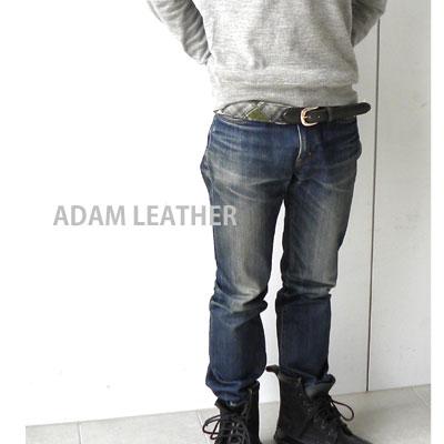 【アダムレザー Adam Leather 】Flannle Belt・AdamLeatherBelt【レディース】【小物】【50】