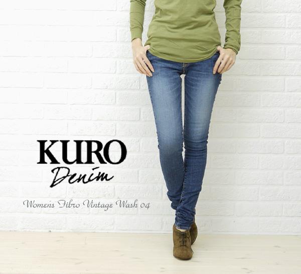 KURO (black) Womens Fibro Vintage Wash 04-FIBRO-VW04-2511102