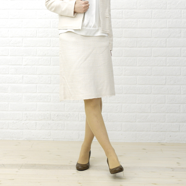 【20%OFFクーポン発行中!】【ドレスアプト BCB別注*Dress apt.】ラメツィード 膝丈 スカート・10399-1991301【レディース】【f】【ボトムス】【50】