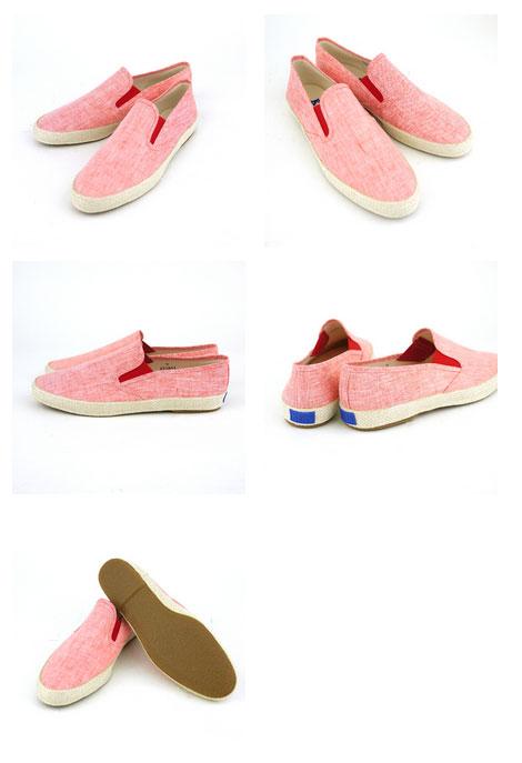 """Keds (Keds) linen chambray slip-on sneakers """"CHAMPION SLIPON""""-8043-0321301 ■ ■"""
