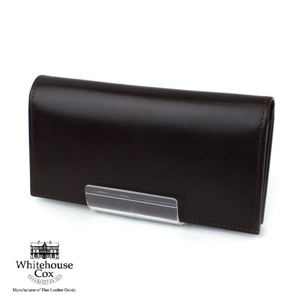 【ホワイトハウスコックス Whitehouse Cox】ブライドルレザー  長財布・S9697-1831801【レディース】【小物】