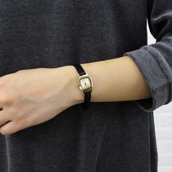 【チュリパ Tulipa】レザーベルト ゴールド 腕時計・TU03-LGD-3111802【レディース】【アクセサリー】【last_1】【◎】