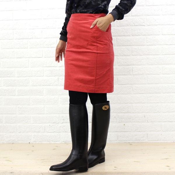 【ドレス アプト Dress apt.】ストレッチコーデュロイ 膝丈 切替 スカート・10510-1991302【レディース】【ボトムス】【50】【last_1】