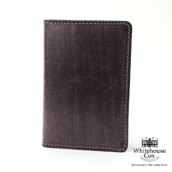 """【ホワイトハウスコックス Whitehouse Cox】ブライドルレザー 名刺入れ """"BRI NAME CARD CASE""""・S7412-1831801【メンズ】【レディース】【JP】【小物】"""