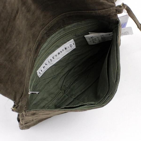 Sheep leather zip mini-shoulder bag .5343201438-0061401