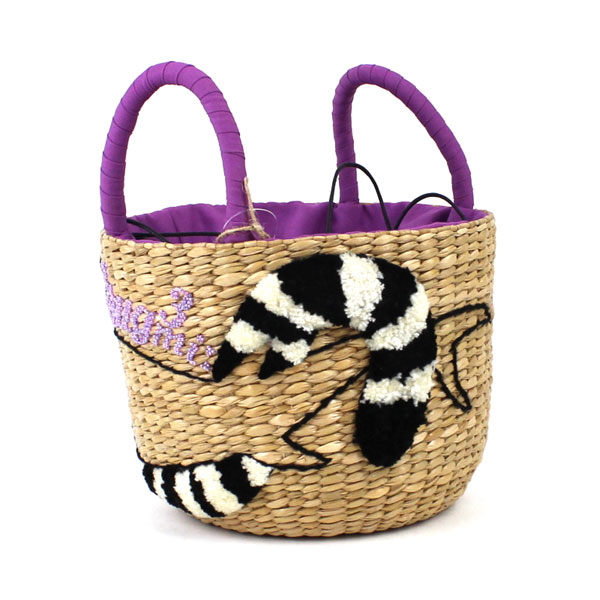 Bank Ann animal embroidery basket bag .28002-2,761,401