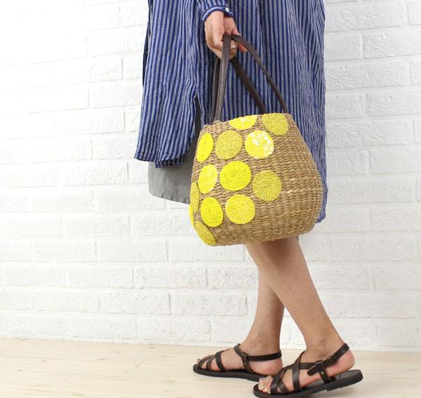 Bank Ann beads dot basket bag .28003-2,761,401