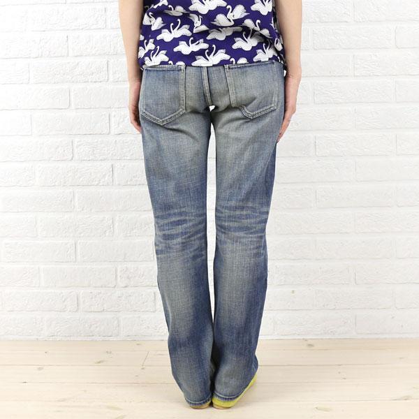 Munich (Munich Re) cotton polyurethane boyfriend denim pants, MNHG 108R-2321402