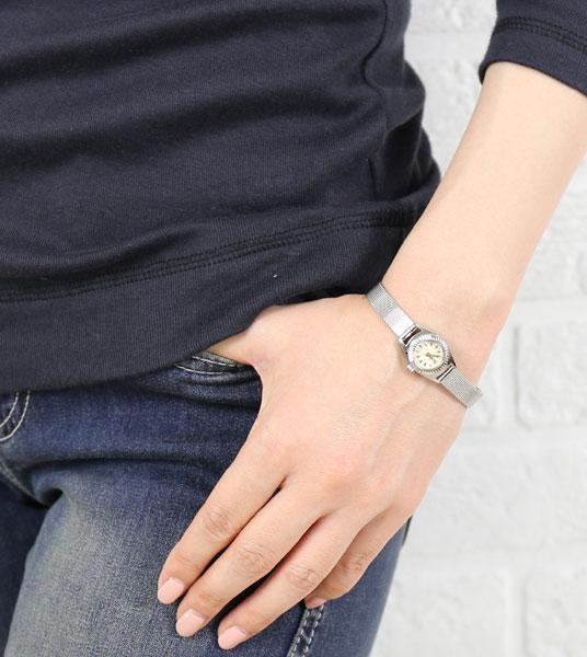 【チュリパ Tulipa】シルバーブレス ラウンドフェイス 腕時計・TU04-MSV-311801【レディース】【アクセサリー】【last_1】【◎】