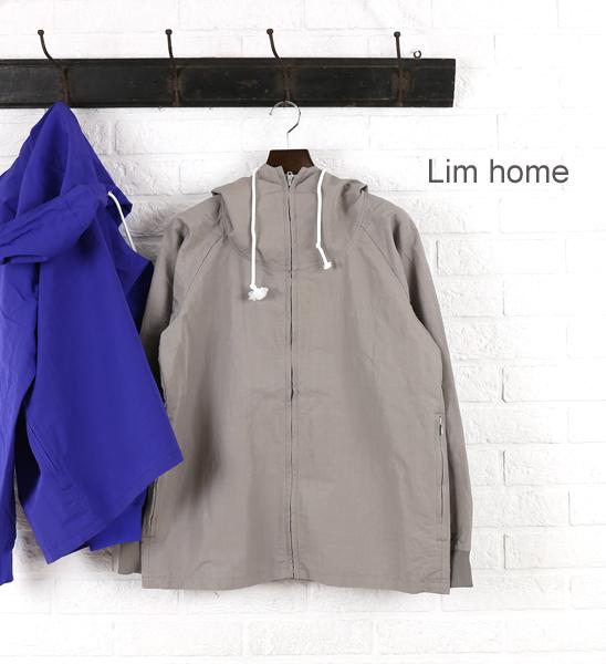 【クーポン利用で30%OFF】【リムホーム Lim Home】コットン ナイロン フーデッド ジャケット・LH-C020-3301501【メンズ】【◎】