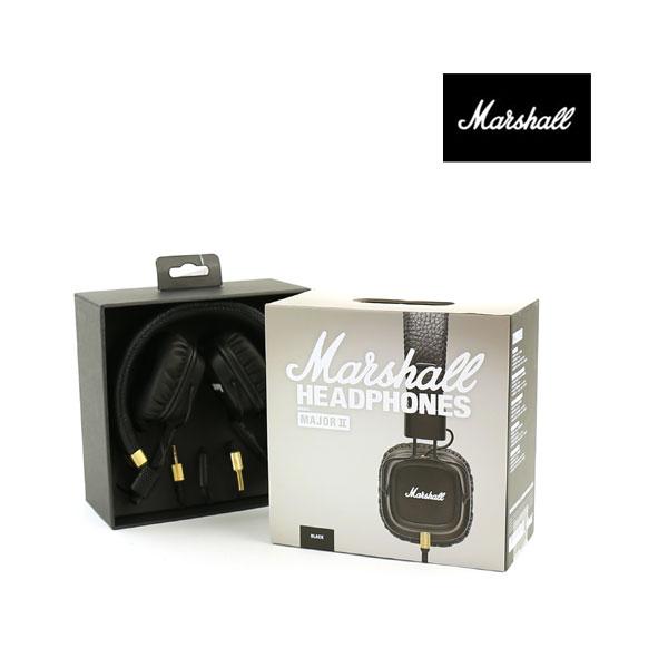 """【マーシャル Marshall】 ヘッドフォン """"MAJOR 2 Black""""・4090985-3471602【メンズ】【レディース】【雑貨・インテリア】"""