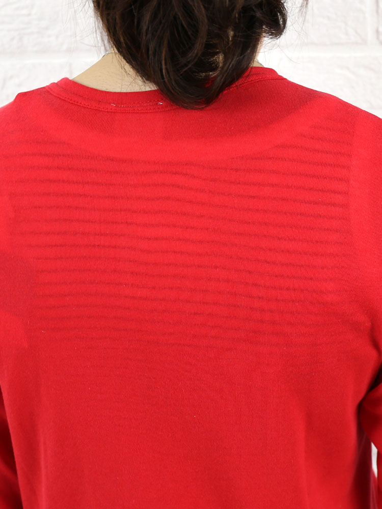kanade (here) from rice cotton 7-sleeve crew neck Cardigan-63050-2001301