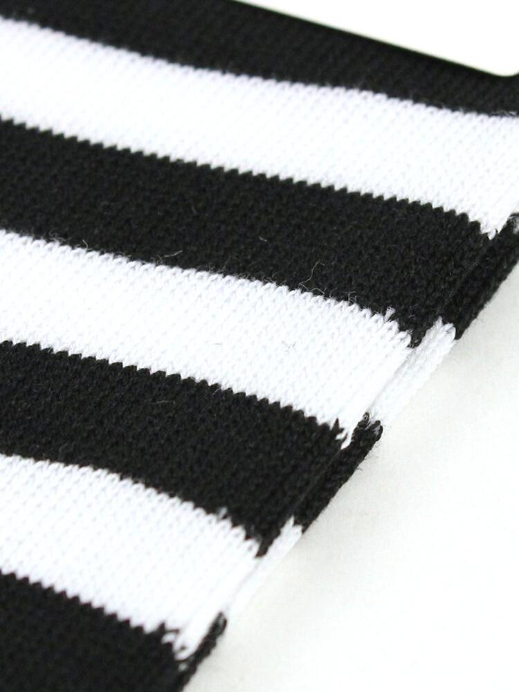 fba7b4819 etre par bleu comme bleu  Cotton nylon horizontal stripe socks ...