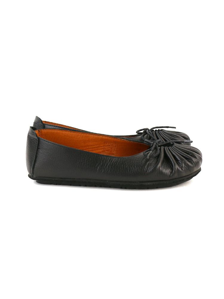 """■ ■ レザーギャザー flat shoes Jeffrey Campbell (Jeffrey Campbell) """"t-21"""" and T-21-0341302."""
