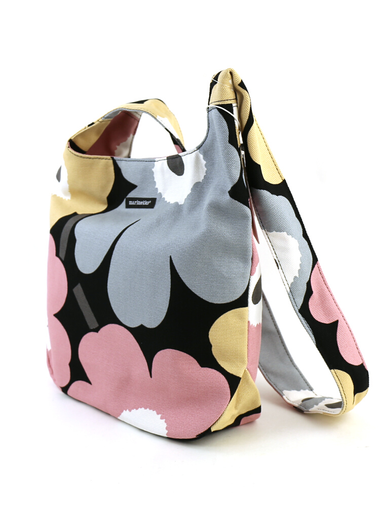 "Marimekko (Marimekko) Japan Limited Edition cotton canvas shoulder bag ""JAPAN CLOVER UNIKKO"" and 52159242768-0061502"
