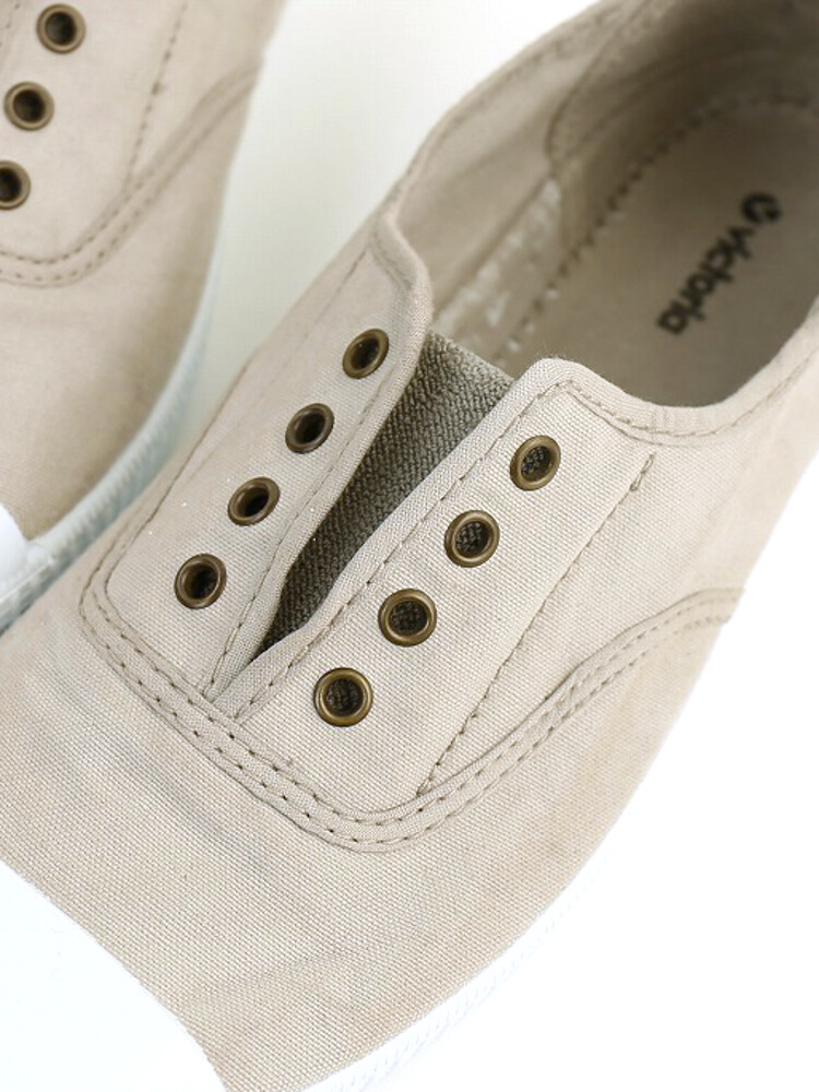 Victoria (Victoria) canvas slip-on sneakers-6623-2521301