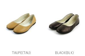Nappa leather round Ballet flat shoes-SLOOP-NAPPA-0811601