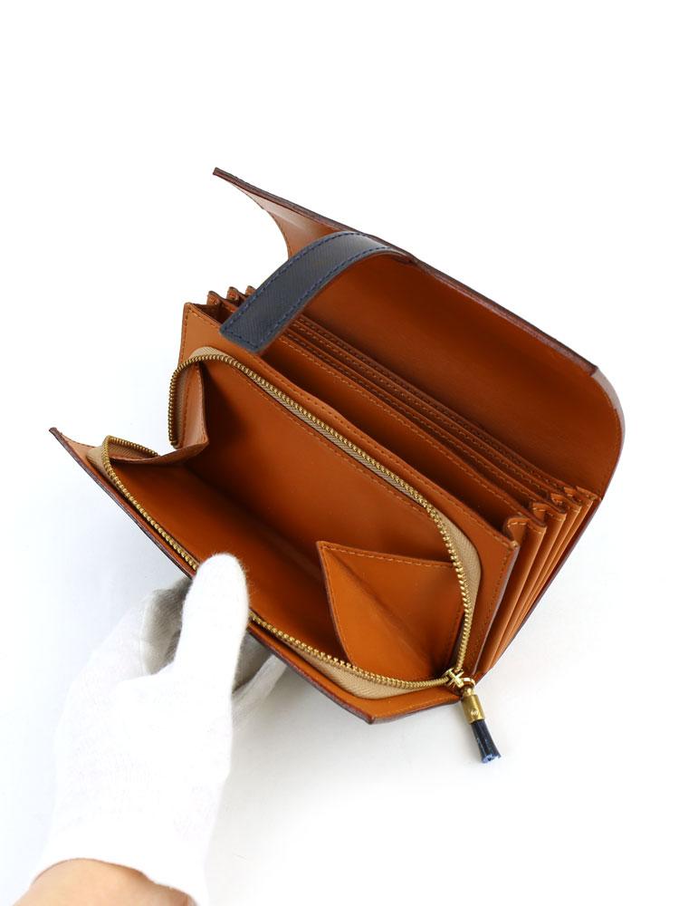 Felisi(フェリージ)エンボスレザーコロコロロングウォレット長財布・3005-SI