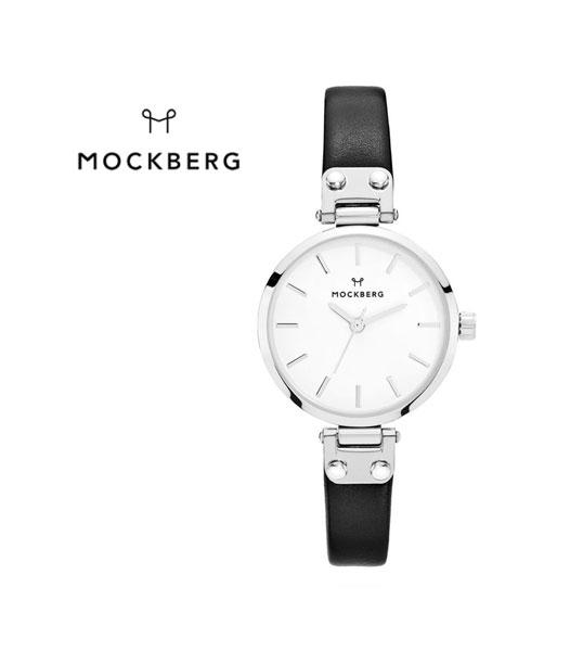【モックバーグ MOCKBERG】レディースウォッチ レザーベルト ラウンド 腕時計 28mm・1402-3731701【レディース】【1F-W】【last_1】