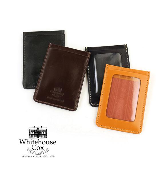 【ホワイトハウスコックス Whitehouse Cox】ブライドルレザー 定期入れ パスケース・S9905-1831801【メンズ】【レディース】