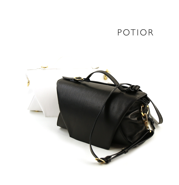 【ポティオール PotioR】レザー 2WAY ショルダー ミニバッグ ハンドバッグ・SO-0127-2701701【レディース】【last_1】