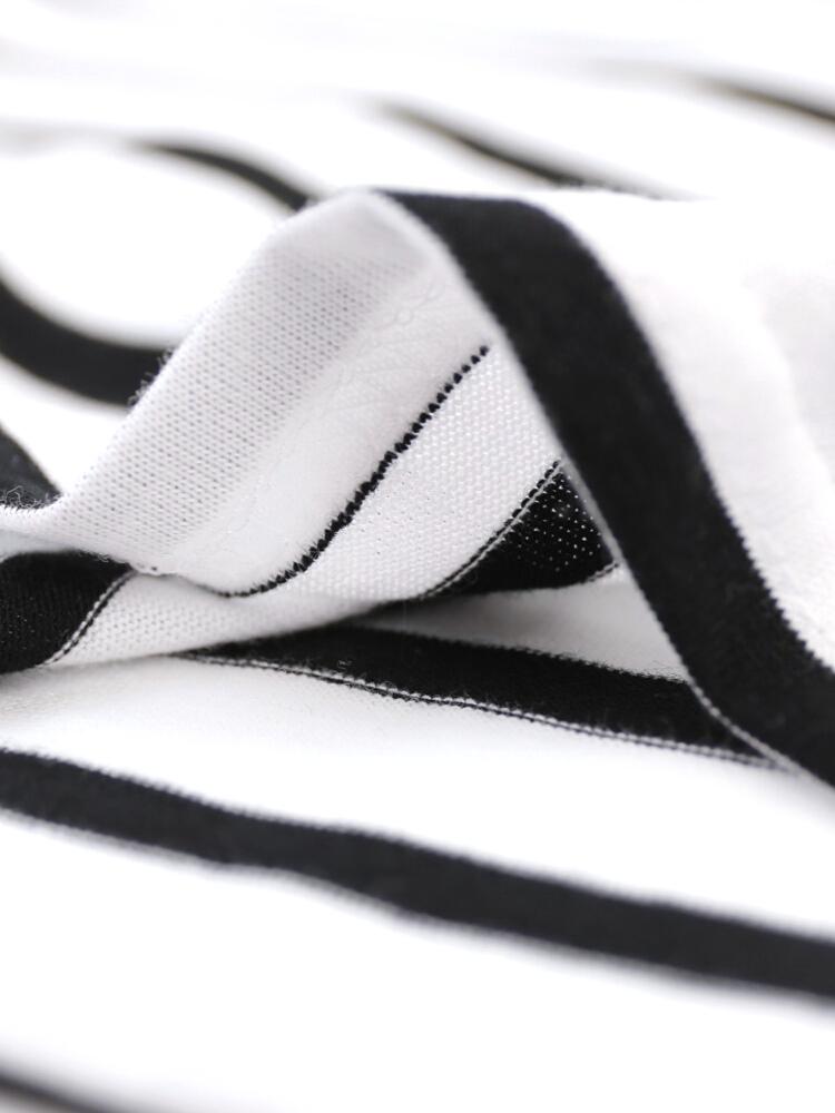 "SAINT JAMES (St. James) cotton neck 7-sewn ""MORLAIX""-08JC183-1-2141501"