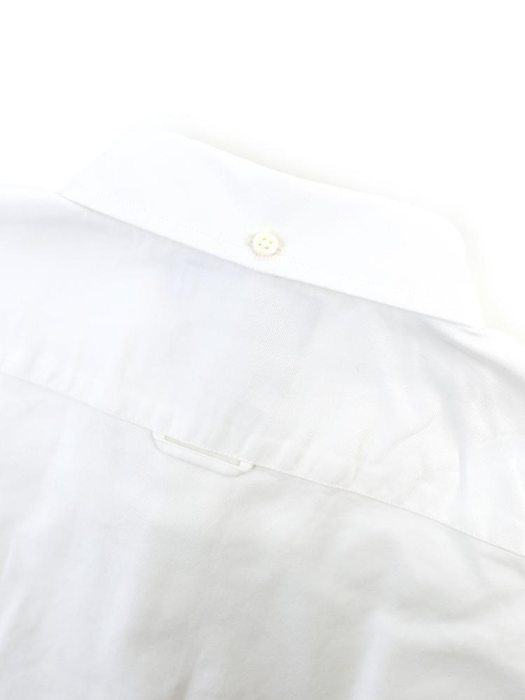 Gymphlex (SimFlex) cotton Oxford puff sleeve button down shirt, j-0645YOX-0321301