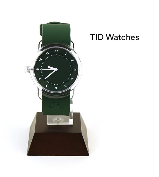 【ティッドウォッチズ TID Watches】腕時計 シリコンベルトセット グリーン/グリーン(38mm) 腕時計 No.3 Collection リストウォッチ・137702-3701702【レディース】【メンズ】【1F-W】【◎】