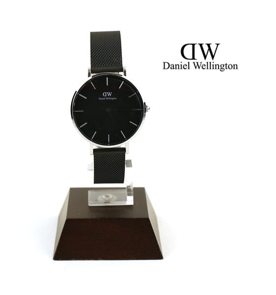 【ダニエル・ウェリントン Daniel Wellington】クラシックペティット アッシュフィールド シルバー ラウンド 時計 腕時計 32mm リストウォッチ・DW00100202-3171702【メンズ】【レディース】【1F-W】【last_1】