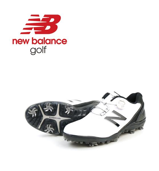 【ニューバランス new balance】 メンズ 防水 ダイヤル式 ゴルフシューズ スパイク MG1000・MG1000-4061702【メンズ】【D-3】