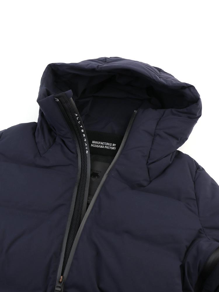 7e40211afa etre par bleu comme bleu  Mizusawa down hooded men s down jacket ...