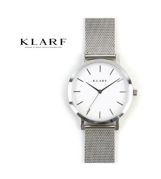 【20%OFFクーポン発行中!】【クラーフ KLARF】メッシュベルト ラウンドフェイス 腕時計 レディースウォッチ 38mm・K-1503-3731802【レディース】【1F-W】