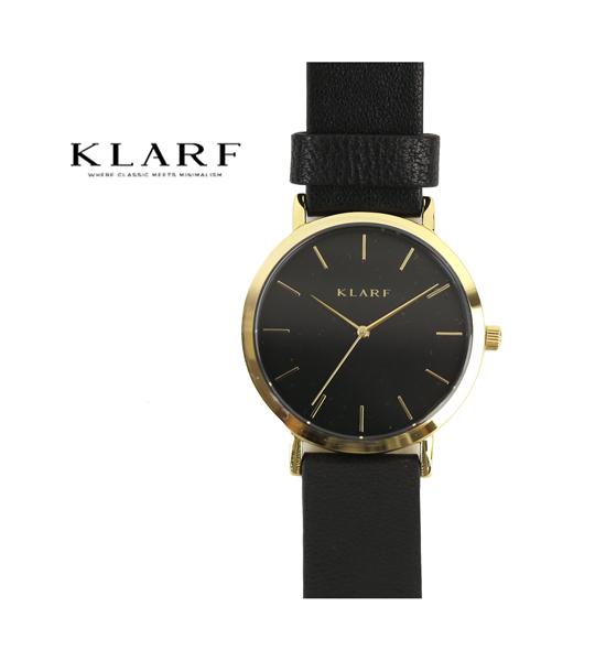 【20%OFFクーポン発行中!】【クラーフ KLARF】レザーベルト ラウンドフェイス 腕時計 レディースウォッチ 38mm・K-1509-3731802【レディース】【1F-W】