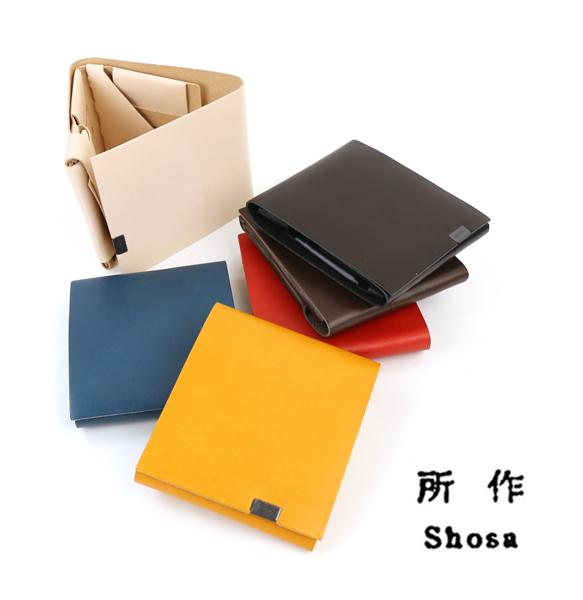 【しょさ 所作/Shosa】Basic レザー 三つ折り 財布 ショートウォレット・SHO-SH2A-4181802【メンズ】【レディース】【■■】【1F】【クーポン対象外】